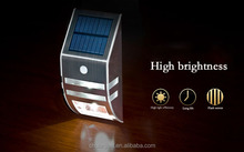 Led solar street light 6 LED Security Motion Sensor Light Outdoor Wall solar Garden led light