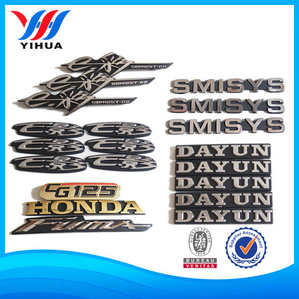 Plastic ABS Electroplating Chromed Auto Car Emblems
