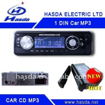 1 din car MP3 H-907, car mp3 player usb sd audio and Aux functions