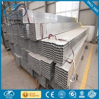 hot dip galvanized steel square pipe/tube/boxing/hollow section pipe