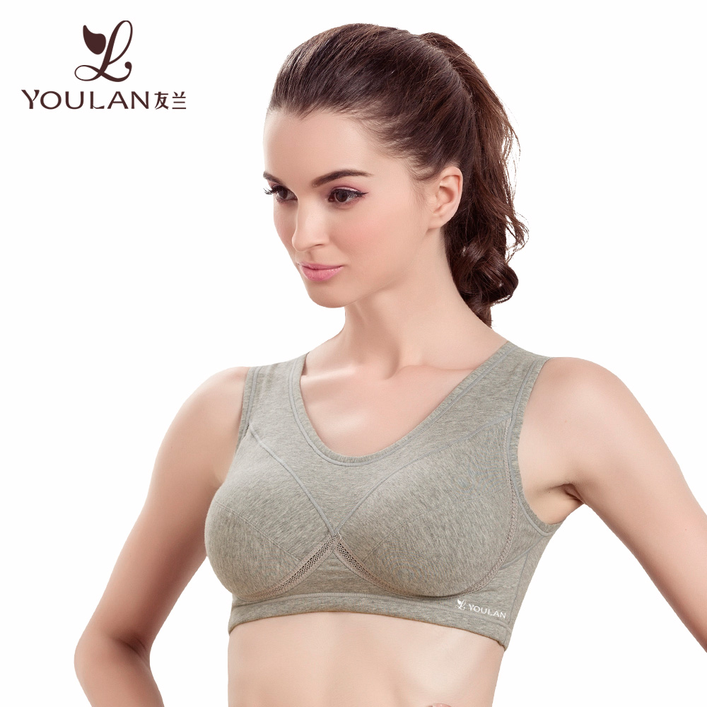 Popular Disposable Cotton Underwear Cheerleading Sports Bra