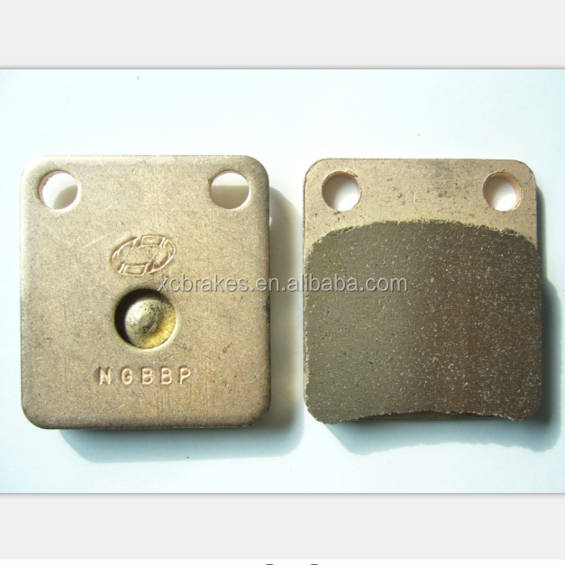 genuine sintered brake pad manufactuer supply motorcycle sintered brake pads with more than 15 years production experience