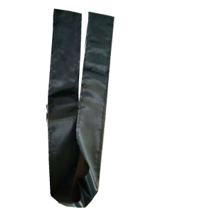Customized Small Quantity printed Good quality Cheap Black Satin head wrap