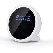Unique wireless camera built in battery Hidden P2P Wifi Alarm Clock Camera with SDK Record