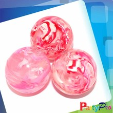 2014 Hot Sall Pink Bouncing Rubber Ball Solid Rubber Bouncy Balls