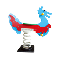 Kids Outdoor Playground Toys Horse Rides