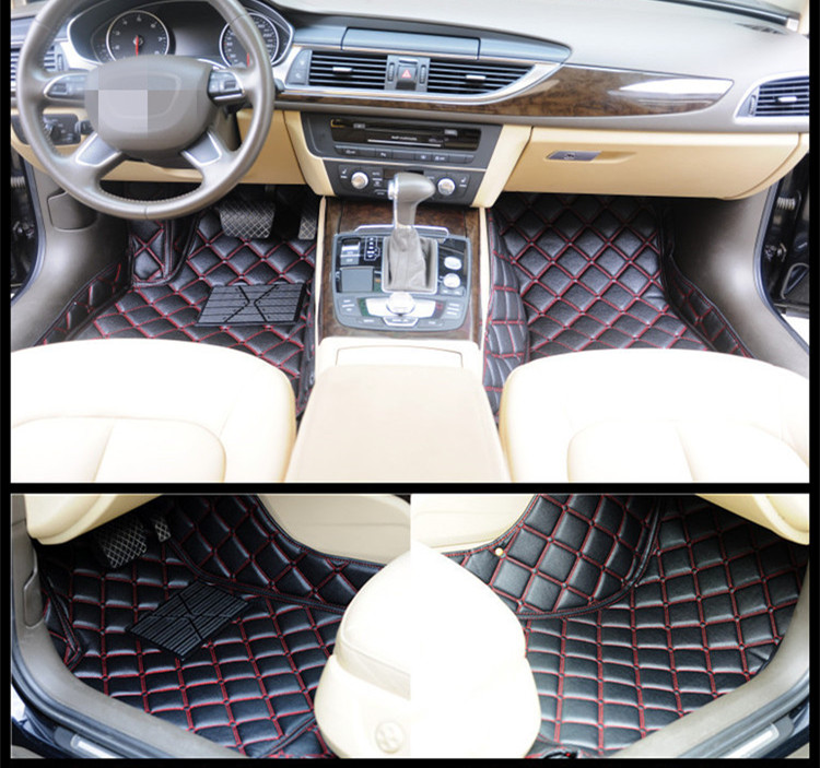 Car Accessories wholesale car carpet cover mat leather custom 3d car floor mat for BYD F0