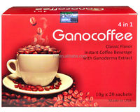 Reishi Organic Ganoderma Ganocoffee 4 in 1 gano coffee Instant coffee antifatigue coffee in the stock
