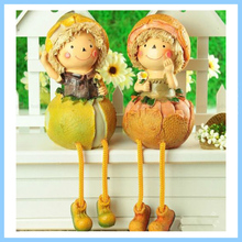 Resin Decorative Fruits Vegetables Doll Shelf Sitter Figurine
