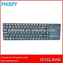 Bluetooth keyboard with touchpad for smart phone