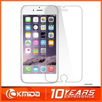 China Best Selling Flat 2.5D 0.26mm Tempered Glass Film Protector For iPhone 6
