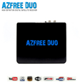AZFREE DUO Full HD Digital Satellite Combo Receiver DVB S/S2 MPEG 2/4 H.264 IKS + SKS Chile Argentine South America IPTV