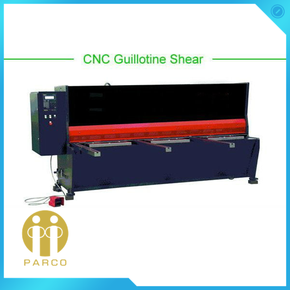 CNC DELEM CONTROL HEAVY DUTY HIGH ACCURACY GUILLOTINE SHEARING MACHINE
