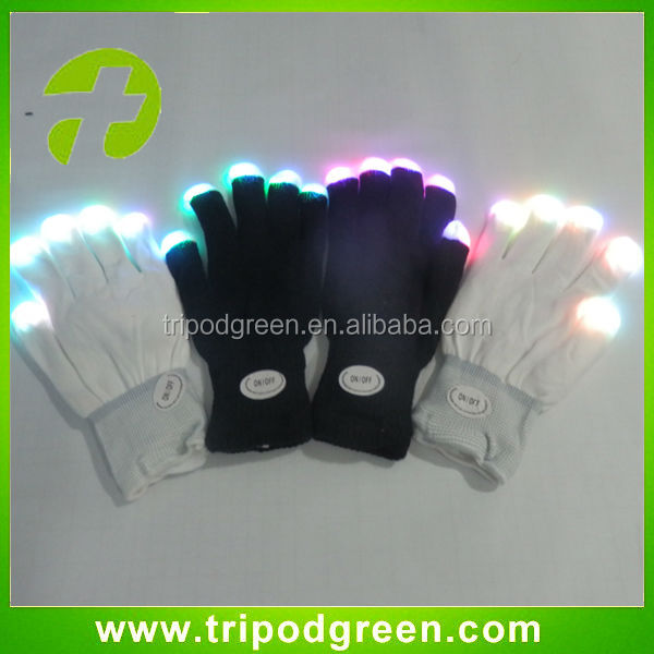 2014 Disco fashion led gloves ,party led gloves,wholesale price