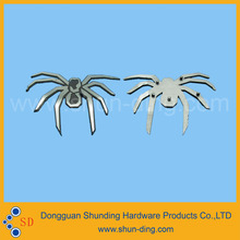 Custom high quality spider shape metal label