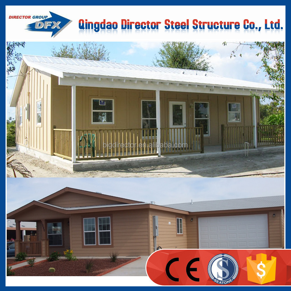 Prefabricated a steel frame modular homes