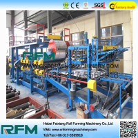FX colour steel sandwich panel machine competit price