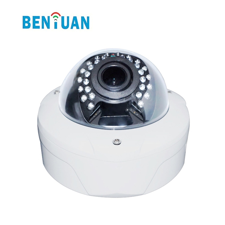 Benyuan HD vandalproof IR 2mp motorized ip camera with auto focus function