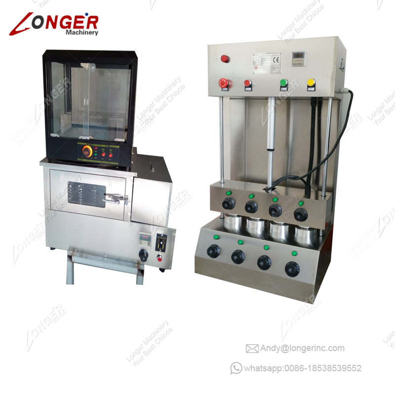 Hot Sale Commercial Industrial Corn Automatic Oven Electric Pizza Making Machine With A Good Price