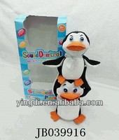 B/O musical penguin battery operated penguin for children penguin playset