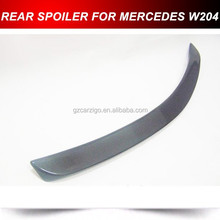 REAL CARBON FIBER W204 C Class Coupe C204 Trunk Spoiler