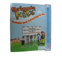 Kids Children Activity Book With Pencils