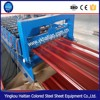 building construction material roof tile moulding color steel sheet roll forming machine