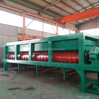 High Efficiency!Mobile log skinned machine/ring type wood barking machine/wood log barker