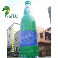 Big PVC inflatable bottle for advertisment & promotion