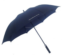 Water repellent golf umbrella supplier storm umbrella automatic