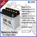 china Motorcycle batteries/Scooter battery 12V 7AH