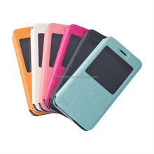 Smart Mobile Phone Window Flip Leather Case for iPhone 6