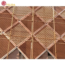 Hot selling expanded metal mesh for curtain with ISO14001