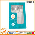 9pcs top quality 420 cutlery set stainless steel