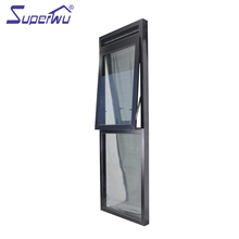 wholesale aluminum frameless awning glass windows