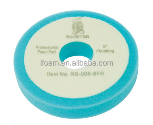 7inch Car Foam Buffing Pad With 50MM Center Hole