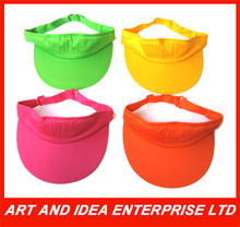Sun visor ,sun hat, visor cap for promotion