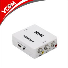 factory wholesale 1080P HDMI to RCA box mini HDMI to AV converter