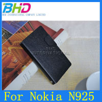 For Nokia Lumia 925 Wallet Case, PU Leather Case for Nokia Lumia mobile Phone