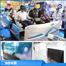Zhuoyuan company entertainment machine mobile 9D egg vr cinema 9D cinema virtual reality cinema
