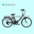 "Aluminum 26"" 36V 10AH electric bike with lithium battery"