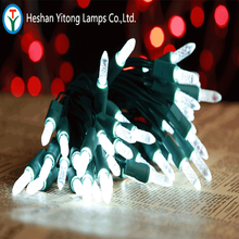 China supplier wholesale Christmas fairy IP65 50L Led M5 festival Icicle string light with low price