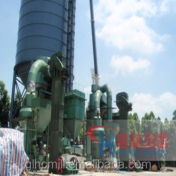 Calcicum carbonate CaCo3 powder grinding mill complete production line supplier for sale