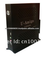 Linux ATOM D525 Dual-core CPU 1.8Ghz Mini PC Desktop