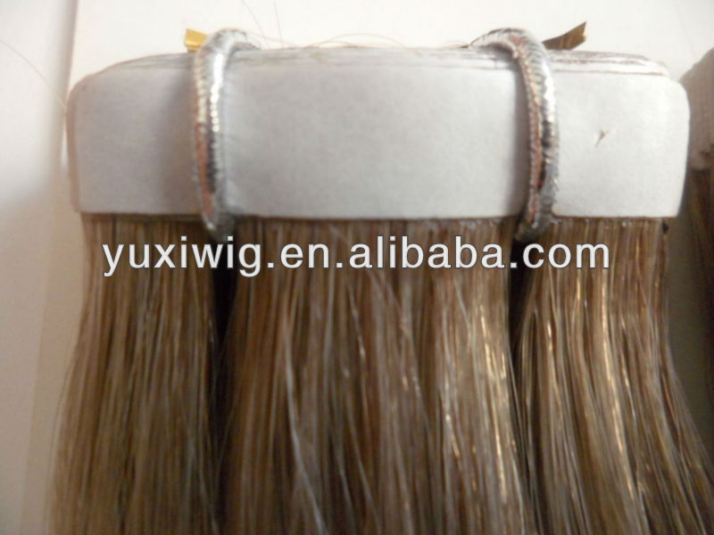 hot selling beautiful easy to wear skin tape hair weft