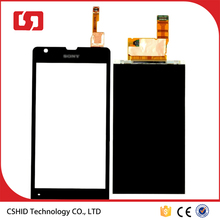 Black Touch Digitizer LCD Display For Sony Xperia SP C5302 C5303 C5306 M35h
