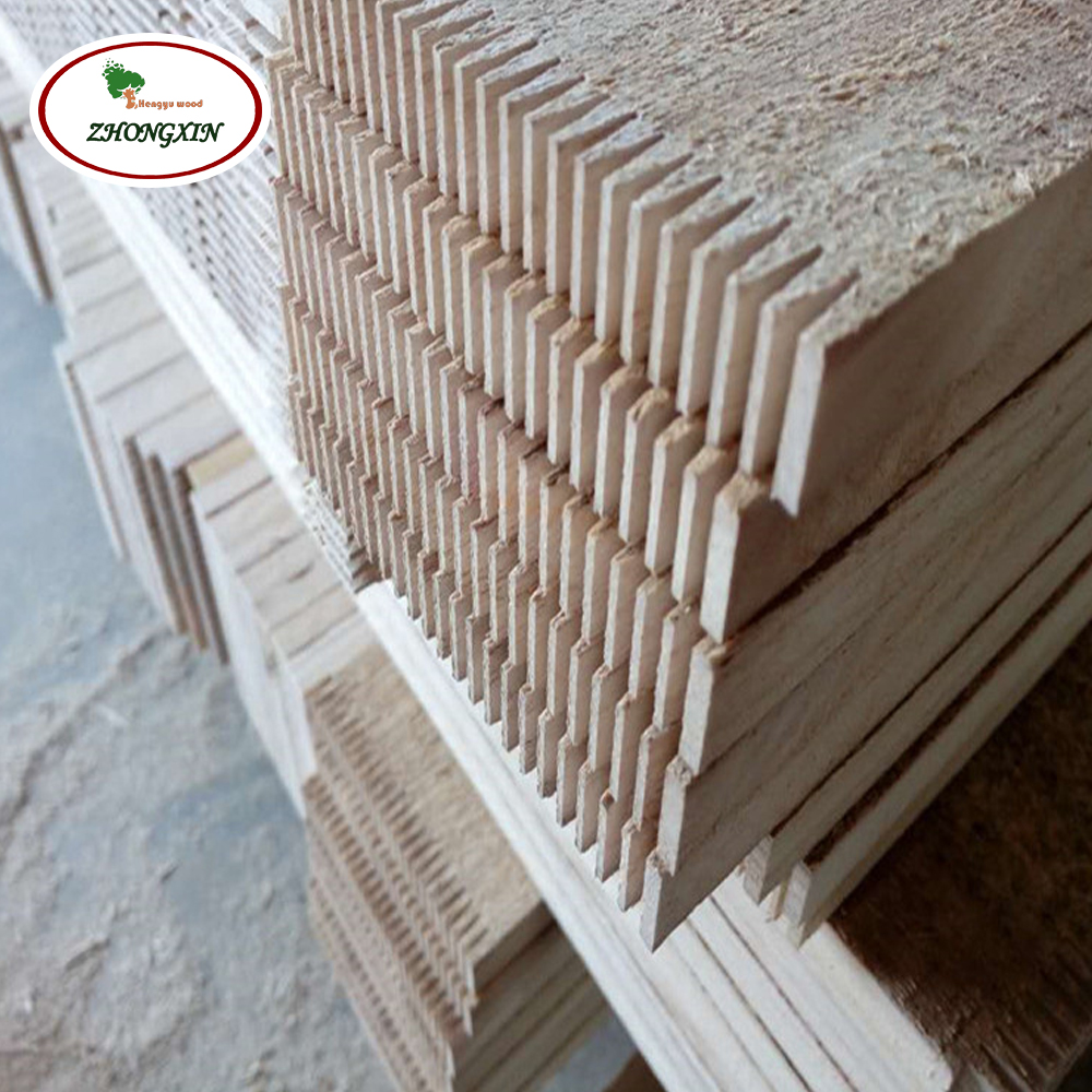 Natural color china wood manufacture paulownia solid board finger jointing