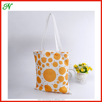 Canvas Eco Natural 100% Cotton Shopper Shoulder Tote Bags With Printing