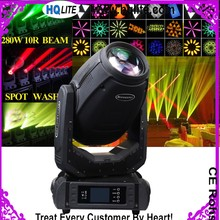 News Copy ROBIN Pointe 10R 280W Sharpy Beam Spot Wash 3in1 Moving Head Light Stage Light