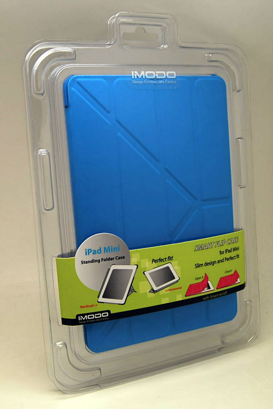IMODO Standing Folder case for ipad Mini with smart on/off 3 Color Available Free Shipping
